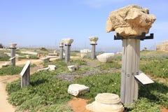 Caesarea Maritima Chapters Stock Photo