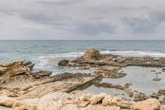 Caesarea Maritima - Herod`s pools Royalty Free Stock Image