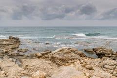 Caesarea Maritima - Herod`s pools Royalty Free Stock Photos