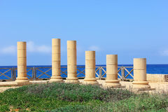 Caesarea Maritima nationaal park, Israël Royalty-vrije Stock Foto's