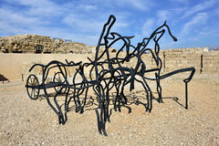 Caesarea Maritima National Park Stock Photo