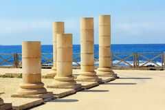 Caesarea Maritima national park, Israel Royalty Free Stock Photography