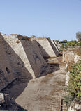 Caesarea Maritima ruins. Caesarea Maritima, called Caesarea Palaestina from 133 AD onwards, was a city and harbor built by Herod the Great about 25�13 BC Royalty Free Stock Photos