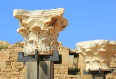 Caesarea Nationaal Park Stock Afbeelding