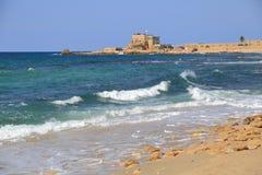 Caesarea National Park Stock Images