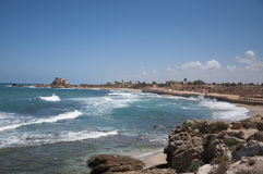 Caesarea old city, Israel Royalty Free Stock Images
