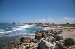 Caesarea old city, Israel Royalty Free Stock Photos