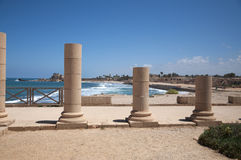 Caesarea old city, Israel Stock Photos