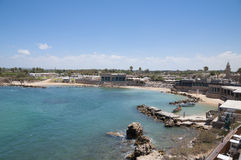 Caesarea old city, Israel Stock Photography