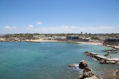 Caesarea old city, Israel Royalty Free Stock Image