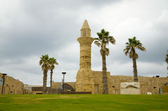 Caesarea, old mosque Stock Photography