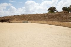 Caesarea ruins Royalty Free Stock Photography