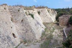 Caesarea ruins Royalty Free Stock Photography