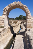 Caesarea's Low Aqueduct Royalty Free Stock Image