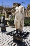Caesarea schronienia ściana Obrazy Stock