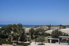 Caesarea schronienia ściana Fotografia Stock