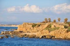 Caesarea seashore. Stock Image