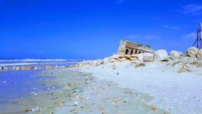 Caesarea wyrzucać na brzeg kolekcję zdjęcie royalty free