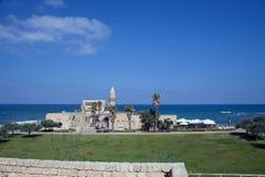 Caesaria Izrael Obrazy Royalty Free