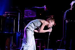 Caesars AC Presents Fiona Apple Live Royalty Free Stock Photo
