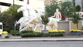 Caesars Atlantic City stock video footage