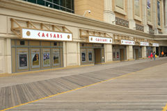 Caesars Atlantic City Stock Photos