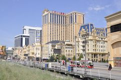 Atlantic City,New Jersey, 3rd July: Caesars Hotel & Casino in Atlantic City resort from New Jersey USA Stock Images
