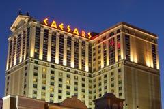 Caesars kasino i Atlantic City arkivfoton