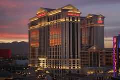 Caesars Las Vegas Stockfotografie
