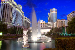 Caesars Palace. LAS VEGAS - AUG 18: Caesars Palace luxury hotel and casino on August 18, 2011 in Las Vegas. The 3,349 room hotel is the only venue in Las Vegas stock image