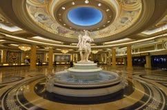 Caesars Palace, aéroport international de McCarran, Caesars Palace, point de repère, lobby, colonne, symétrie Photo stock