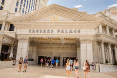 Caesars Palace entrance to casino Stock Photo