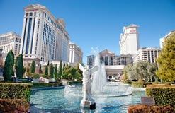 Caesars Palace, hôtel et casino, Las Vegas, nanovolt Image libre de droits