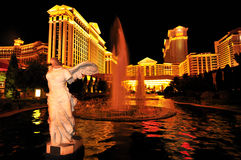 The Caesars Palace Hotel in Las Vegas stock photo