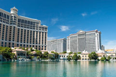 Caesars Palace Hotel on the Las Vegas Strip in Nevada Stock Photography