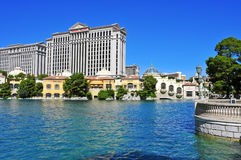 Caesars Palace Hotel in Las Vegas, United States Stock Images