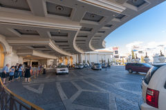 Caesars Palace hotel main entrance Stock Photos