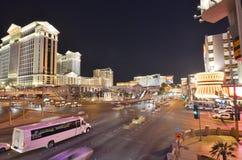 Caesars Palace, hotel y casino, zona metropolitana, ciudad, zona urbana, metrópoli de Bellagio imágenes de archivo libres de regalías
