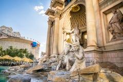 Caesars Palace i negozi del forum Fotografia Stock Libera da Diritti
