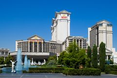 Caesars Palace in Las Vegas Stock Images