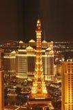 Caesars Palace Las Vegas da torre Eiffel Fotos de Stock