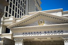 Caesars Palace royalty free stock photography