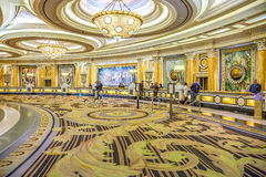 Caesars Palace Lobby, Hotel and Casino, Las Vegas, NV. Caesars Palace, Las Vegas - January 13, 2016: Caesars Palace opened in 1966. It has 3,960 rooms with a royalty free stock images