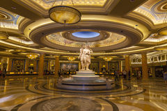 Caesars Palace Lobby in Las Vegas, NV on June 26, 2013 Stock Photos