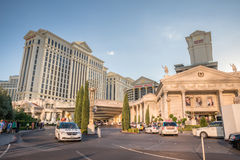 Caesars Palace magistrali lobby wejście Zdjęcie Royalty Free