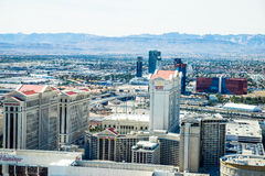Caesars Palace, Rio and Flamingo Hotel and Casinos Stock Photography