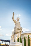 Caesars Palace Statue of Caesar. Statue of Caesar in Las Vegas at Caesars Palace Hotel and Casino stock photography
