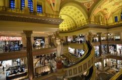 Caesars Palace, caesars palace, zakupy centrum handlowe, handel detaliczny, budynek, zakupy Zdjęcia Royalty Free