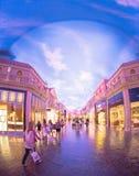 Caesars Palacegalleria fotografering för bildbyråer