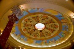 Caesars Palacetakfönster Arkivbild